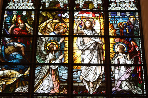 Resurrection Window Closeup 500px